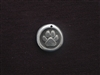 Large Paw With Vintage St Francis (Patron Saint For Animals) On Back Antique Silver Colored Wax Seal