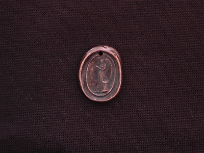 Trust Your Wings With Angel Antique Copper Colored Wax Seal