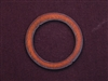Rusted Iron Open Circle Large Link
