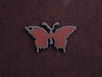 Rusted Iron Medium Butterfly Pendant