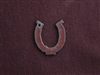 Rusted Iron Medium Horseshoe Pendant