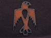Rusted Iron Thunderbird Pendant