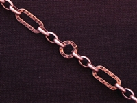 Antique Copper Colored Chain Style #55 Priced By The Foot