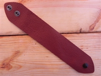 Leather Cuff Large/Ex Large Deep Rust