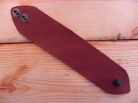 Leather Cuff Small/Medium Deep Rust