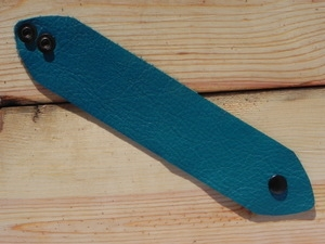 Leather Cuff Small/Medium Turquoise