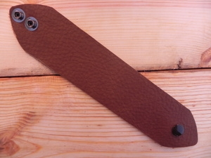 Leather Cuff Small/Medium Taco Brown