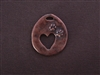 """Who Rescued Whom"" Antique Copper Colored Fresh Lipstick Pendant"