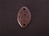 """Love This Life"" Oval Antique Copper Colored Fresh Lipstick Pendant"