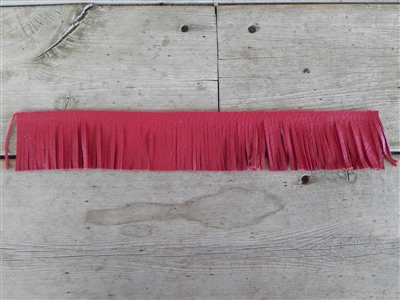 EZ Fringe Tassel Red (Economical Shorty Size)