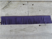 EZ Fringe Tassel Purple (Economical Shorty Size)