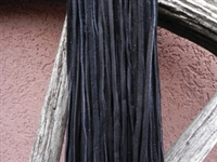 Leather Strands 1/8 (3 mm) Black