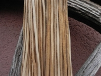 Leather Strands 1/8 (3 mm) Cream