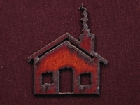 Rusted Iron Cabin Pendant