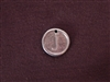 Initial J Antique Silver Colored Wax Seal