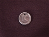 Initial K Antique Silver Colored Wax Seal