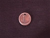 Initial L Antique Copper Colored Wax Seal