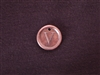 Initial V Antique Copper Colored Wax Seal
