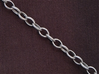Antique Silver Colored Chain Style #60 Priced By The Foot