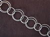Antique Silver Colored Chain Style #69 Priced By The Foot
