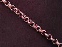 Antique Copper Colored Chain Style #71 Priced By The Foot