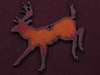 Rusted Iron Deer Pendant