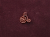 Charm Antique Copper Colored Tricycle