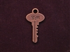 Charm Antique Copper Colored Door Key