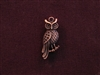 Charm Antique Copper Colored Large Owl