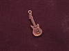 Charm Antique Copper Colored Guitar