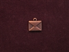 Charm Antique Copper Colored Envelope