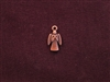 Charm Antique Copper Colored Praying Angel