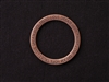 Large Inspiraton Word Ring Antique Copper Colored