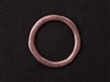 Large Pewter Irregular Ring Antique Copper Colored