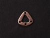 Pewter Triangle Irregular Connector Antique Copper Colored