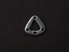 Pewter Triangle Irregular Connector Antique Silver Colored