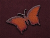 Rusted Iron Butterfly Pendant