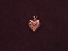 Charm Antique Copper Colored Strawberry
