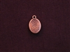 Charm Antique Copper Colored Be True Drop