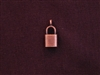 Charm Antique Copper Colored Lock