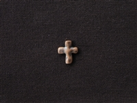 Metal Cross Bead Antique Copper Colored