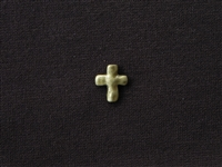 Metal Cross Bead Antique Bronze Colored