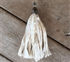 Tassel Project Antique Gold Cream Silk