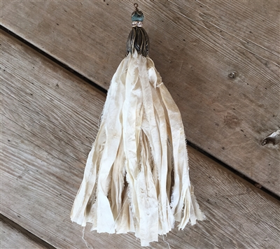 Project - Antique Gold Silk Tassel