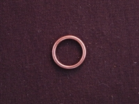 Ring Antique Copper Colored Larger Size Plain