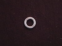 Ring Silver Colored Smaller Size Plain