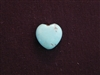 Heart Large Turquoise Colored Howlite/Magnesite