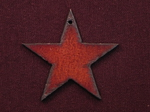 Rusted Iron Star Pendant