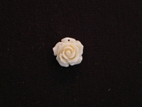 Rose Cream Acrylic Resin Full Top Drilled Hole