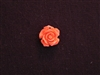 Rose Dusty Tomato Acrylic Resin Full Top Drilled Hole